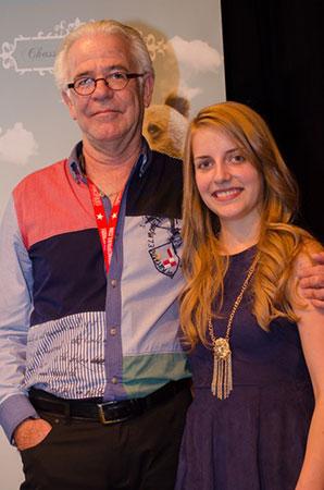 Valérie Lahaie avec Jehan