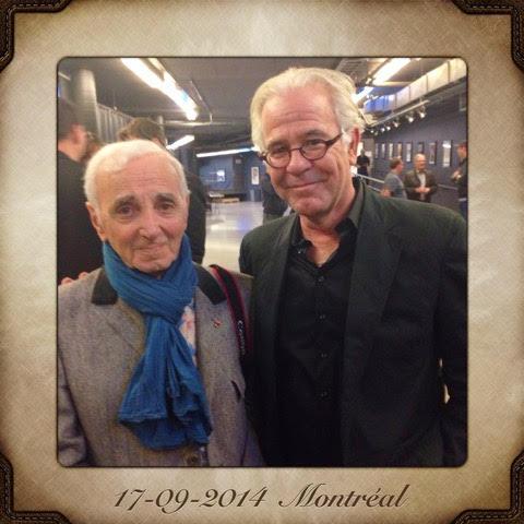 Jehan Valiquet avec Charles Aznavour